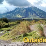 Biking in Mayon