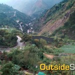 Biking up Kennon Road to Baguio