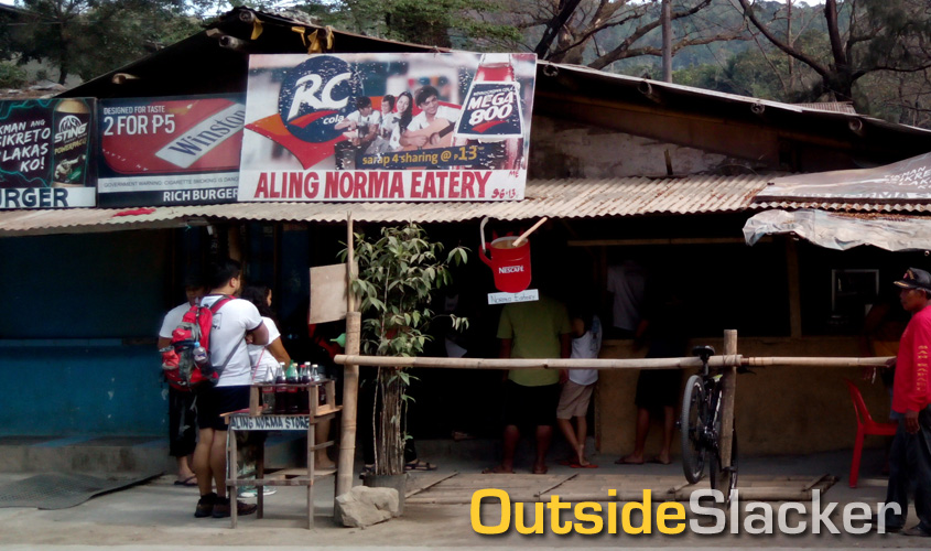 Aling Norma's eatery