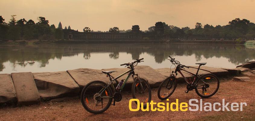 Biking in Angkor Wat Siem Reap